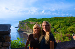 Overlooking the cliffs.. , Susan P - June 2017