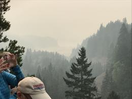 Smoke haze , desplin - October 2017