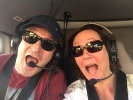 Ian and Belinda Willis Helicopter ride to Grand Canyon , Belinda W - September 2016