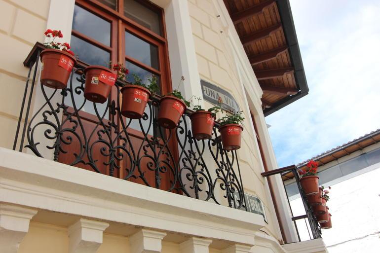 Balconies - Quito