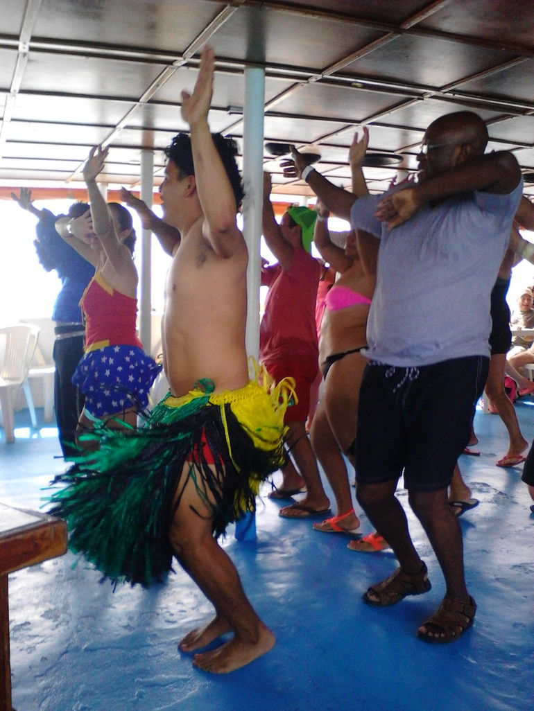 Sightseeing, Snorkeling, and Dancing Catamaran Cruise from Cancun photo 23