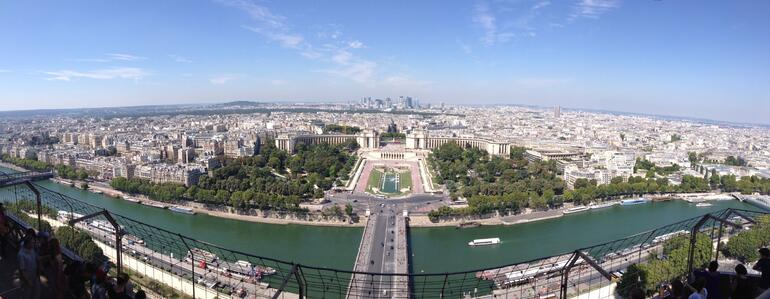 from the top of the eiffel tower - Paris