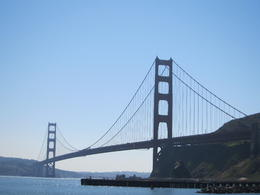Beautiful Golde Gate Bridge view from Sausalito. , mom - March 2012