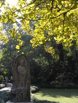 Ancient sculpture in Hangzhou - May 2012