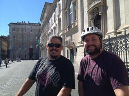 My hubby and scotty to hottie at the Piazza Navona. , artist4rags - October 2012