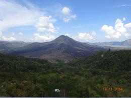 a view of Mount Batur , satish chandra - November 2014