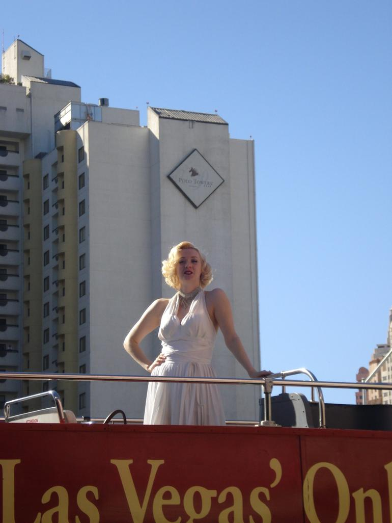 Las Vegas Double-Decker Bus of the Stars - Las Vegas