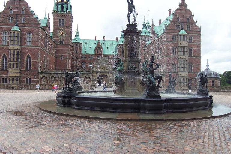 Main Entry to the Caste at Frederiksborg - Copenhagen