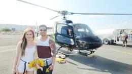 Us with Our Chopper :) , Michelle C - January 2014