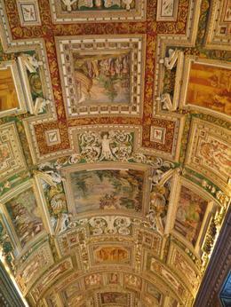 Plafond Vaticaan museum , G.N.A A - July 2014