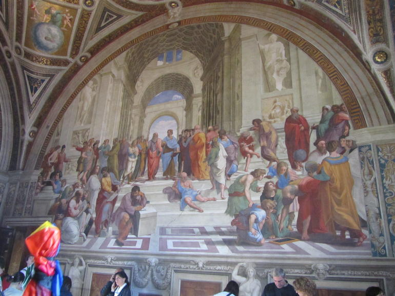Raphael painting - Rome