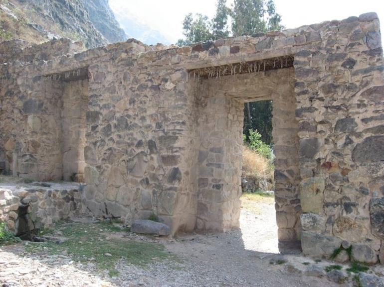 Ruin at Ollantaytambo - Cusco