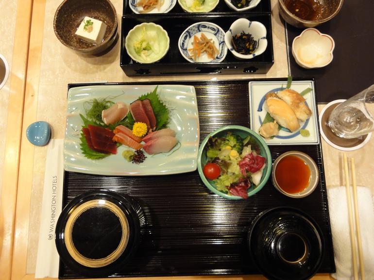 Sashimi dinner - Tokyo