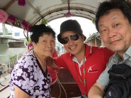My mom, Typhoon Honey, and me. , Albert L - December 2015
