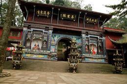 Temple on Qingcheng Mountain , Deana J - November 2013
