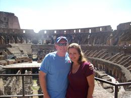 Inside the Colosseum., Michael B - August 2008