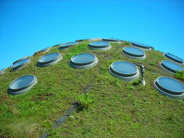 The day was beautiful and the views were great from the Living Roof, Melissa H - May 2013