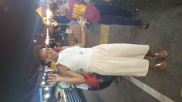 We went to a night market that was amazing! , Jessica C - April 2016