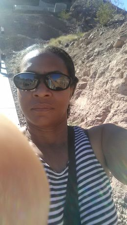 At the Hoover Dam , Annquinette C - July 2016