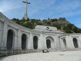 Valley of the fallen with the church entrance. , DEBASIS D - August 2016