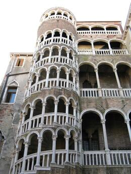 Bovolo staircase, would have missed seeing this unless really looking for it. - April 2009