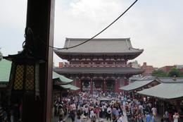 Asakusa Temple and shopping stalls , Patrick T - September 2017