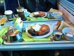 Breakfast on the train , mynpyn - October 2017