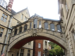 Bridge of Sighs in Oxford. , Lori N - September 2015