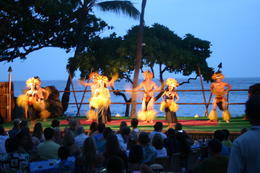 This is only a small part of the show being presented at the Luau , david l - July 2013