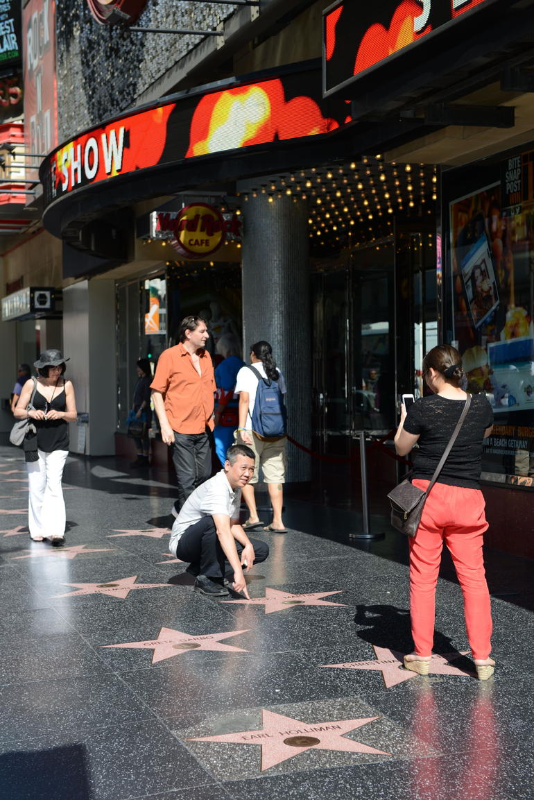 Hollywood Blvd - Los Angeles