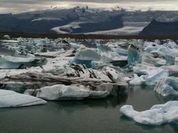 Jokulsarlon glacial lagoon. , Marie W - July 2011