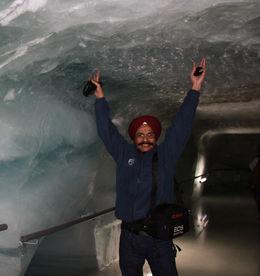 Ice tunnel , Tejinder S - April 2015