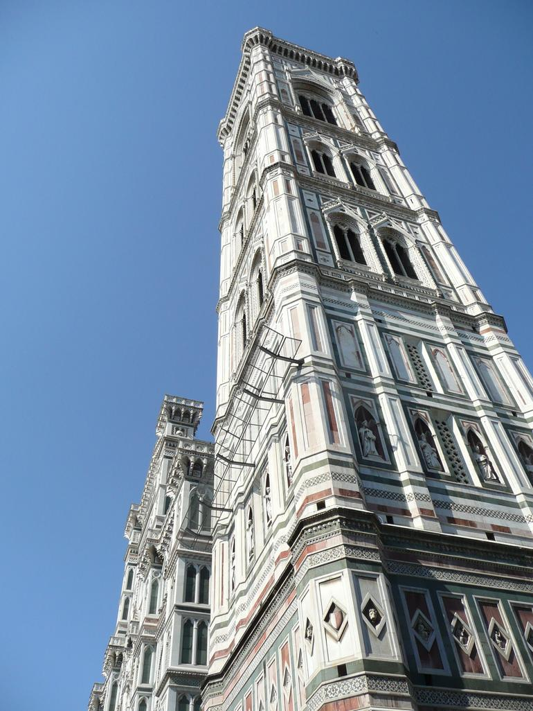Looking Up At Giotto's Bell Tower - Florence