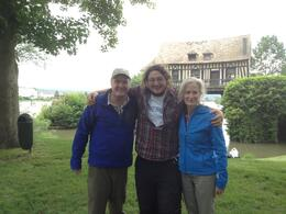 The Stranlunds and our guide, Pete! , John S - June 2013