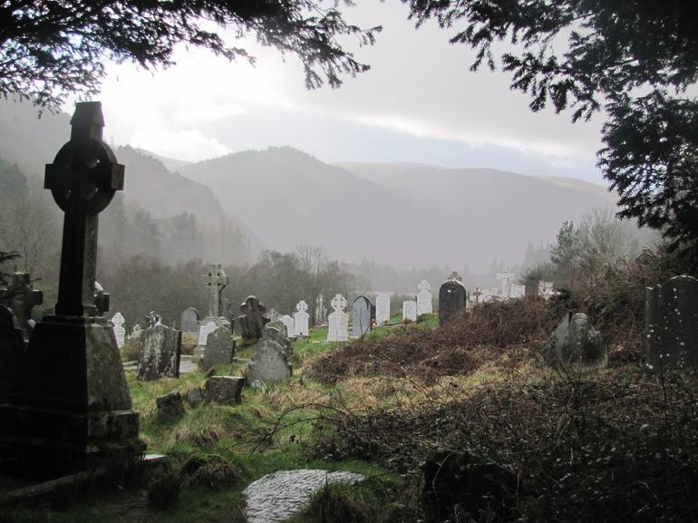 Monastery at Glendalough - Dublin
