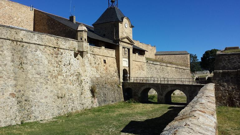 Mont-Louis France--Fortifications - Barcelona