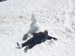 A shot of me enjoying the snow at Mt. Titlis, SUREKHA S - July 2009