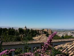 Nice view of the Alhambra , Anna C I - September 2014