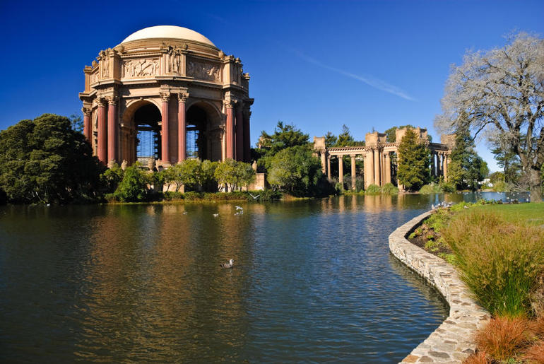 Palace of Fine Arts, San Francisco, CA - San Francisco