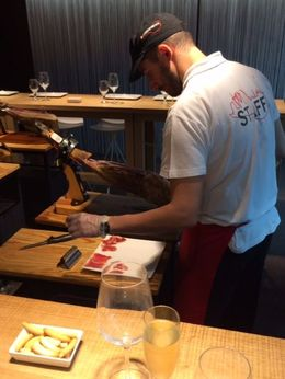 Cutting the Jamon, SCV - December 2014