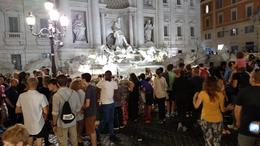 No doubt about it, the Trevi is STUNNING, but a bit crowded!! , Patricia A M - October 2016