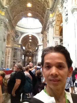 Setting my footsteps inside St. Peter's and Sistine Chapel, a dream come true. , Alexis P - October 2013
