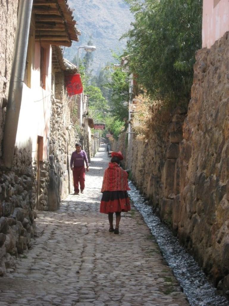 Street in Ollantaytambo - Cusco