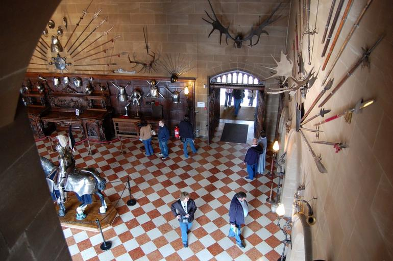 Warwick Castle Armoury - London