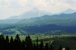 View to the Tatras Mountains , Us - June 2011