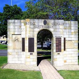 Memorial at the Anglesea Barracks , Tatyana T - November 2016