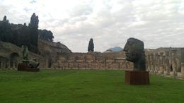 Museum used in the winter in place of Vesuvius, Gladiator School , Kristi J - February 2017