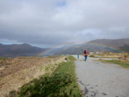 We even caught a rainbow at The Ladies Pass , Sharon Lea L - May 2017