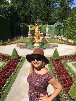 Linderhof Palace Gardens , Nery - July 2017