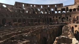 View from inside the Colosseum , Gary L - October 2017